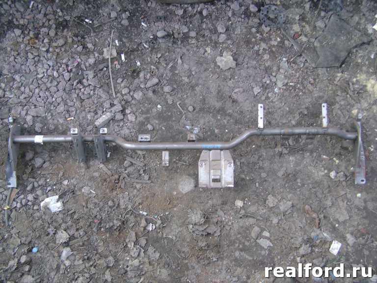 Усилитель торпеды (металлическая направляющая + 2 усилителя)